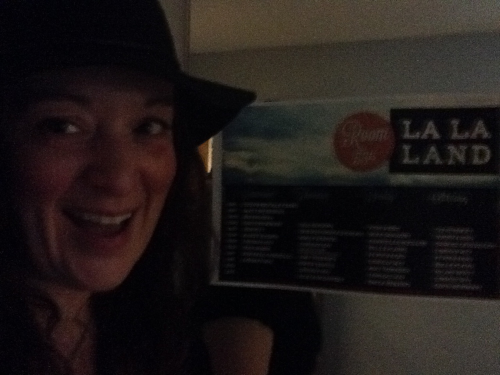 La La Land - the appropriately named showcase room for Vancouver artists, and then some.  Posters designed by Christa Couture... and so cool folks were stealing them!