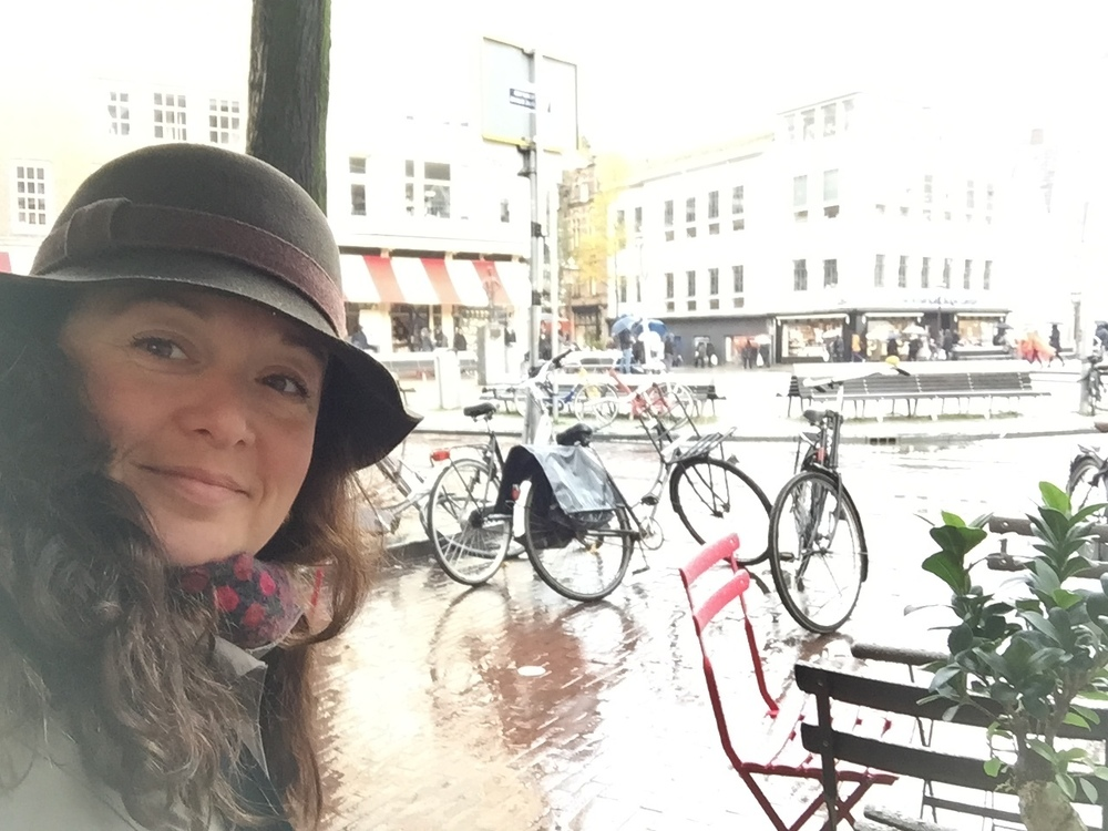 Cappuccino break in Amsterdam