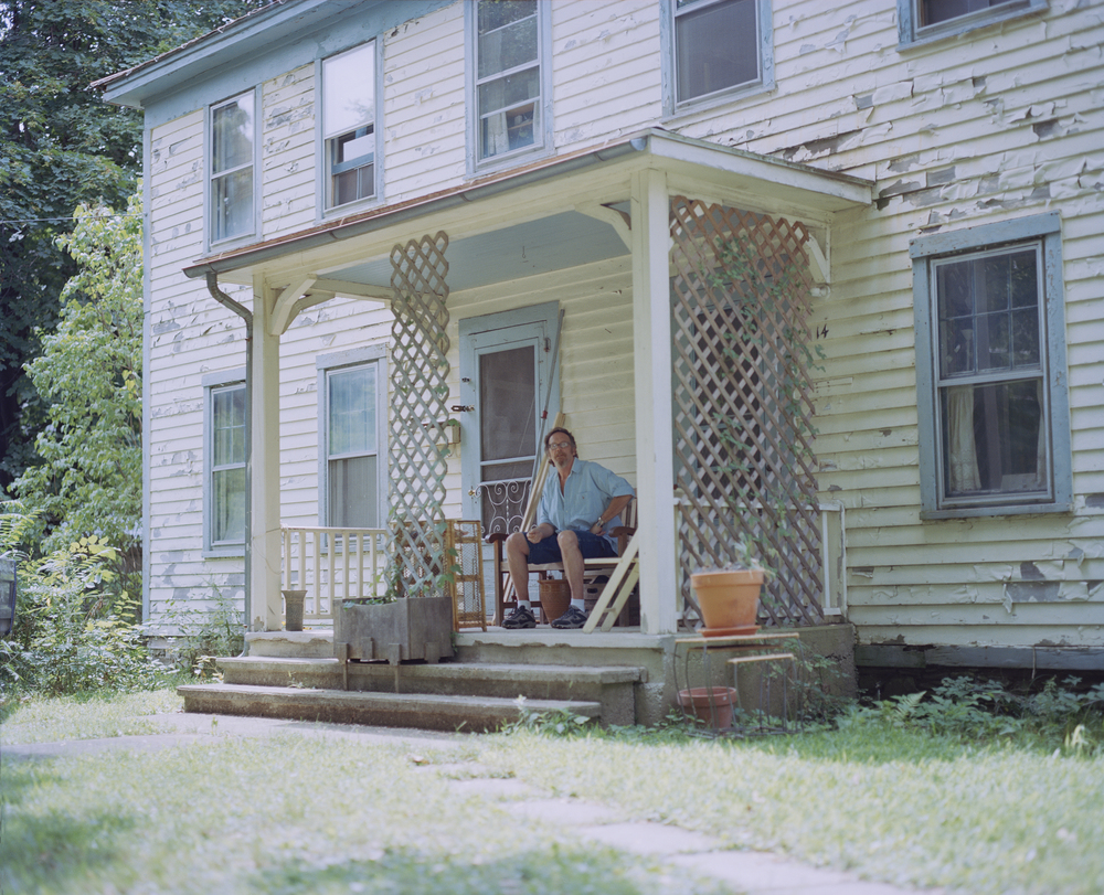 I grew up in a series of small towns in the Hudson River Valley region of New York. My parents bought their first home when I was in Middle school. My parents and I lived on one half and they rented out the other half. Since I've moved out, the last tenant also left and instead of finding new tenants my mom slowly moved in to the other half of the house. The division of the house and the decay that the structure began to undergo over the last fifteen years has become a visual symbol of my parents crumbling marriage, struggle to try and stay in the middle class and battles with addiction.
