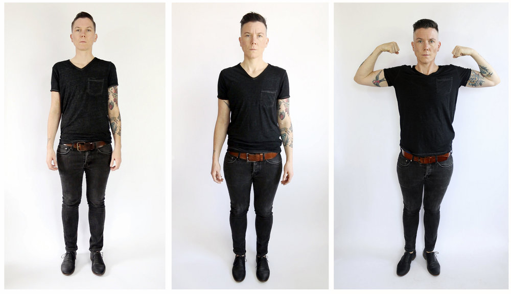 Gender is a Drag (Triptych)