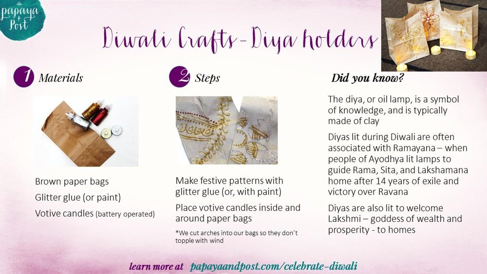 Diwali Diya Holder craft