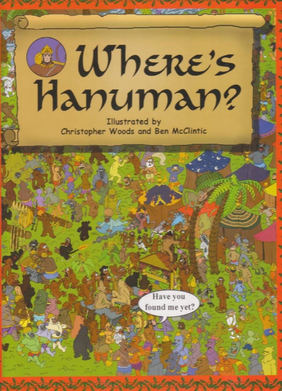 Find Hanuman in Ramayana scenes like Sita's wedding. Great way to learn while having fun RedPatang $8.95