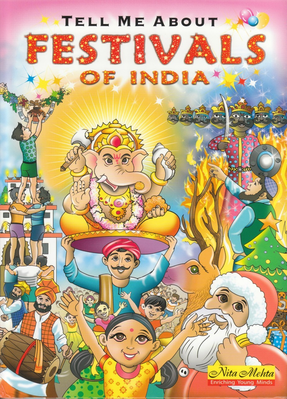 Festivals of India book. Learn about Diwali, Holi and more! RedPatang $8.99