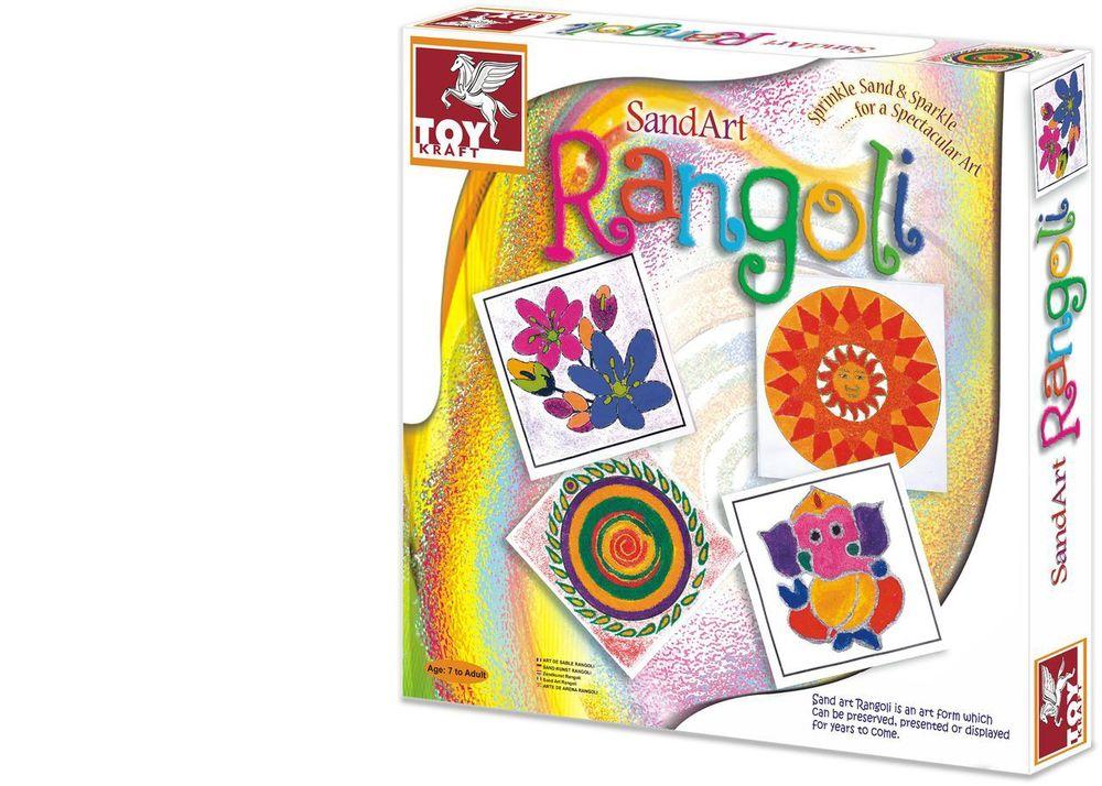 Rangoli Sand Art Kit RedPatang $12.50
