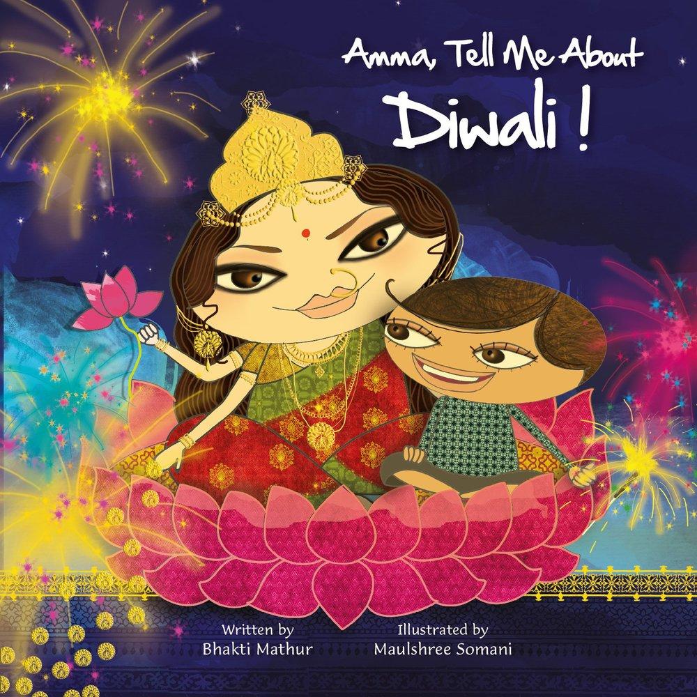 Kid friendly book on Diwali mythology Amazon $19