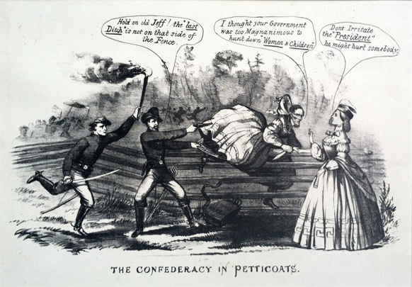 The Confederacy in Petticoats.