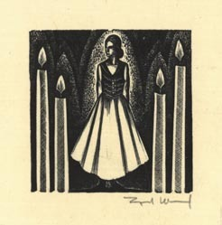 Lynd Ward, Midsummer Night, Wood engraving, 1930.  $265