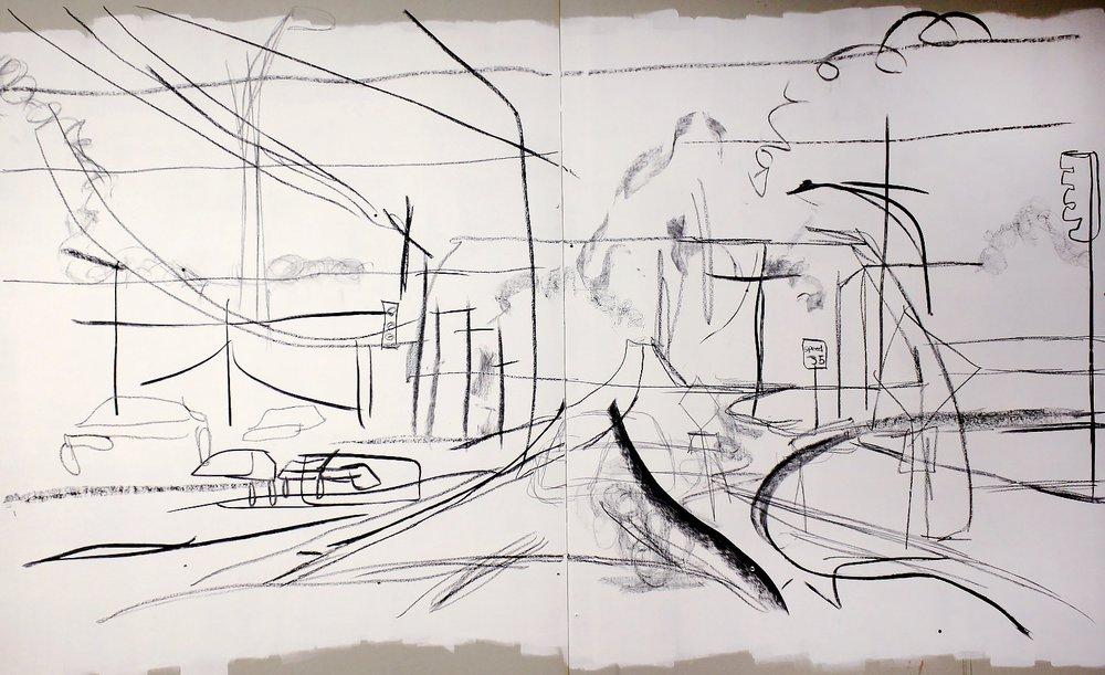 Wall Drawing Detail