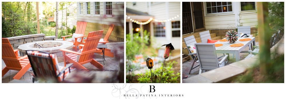 A gorgeous backyard remodel gets fresh furnishings and lighting with Bella Patina.