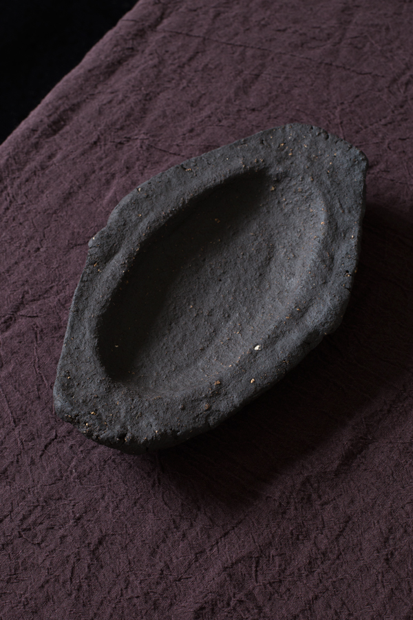 Dark Earth Tray Approx 26.5cm L x 16.5cm W x 4cm H