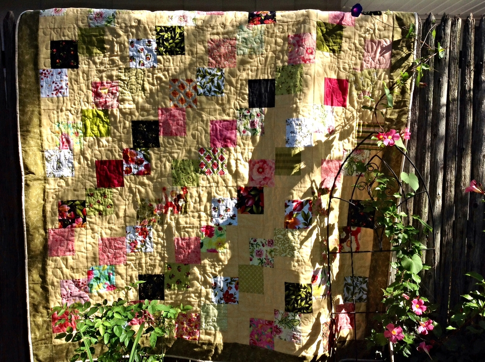 Falling charms quilt strip quilts