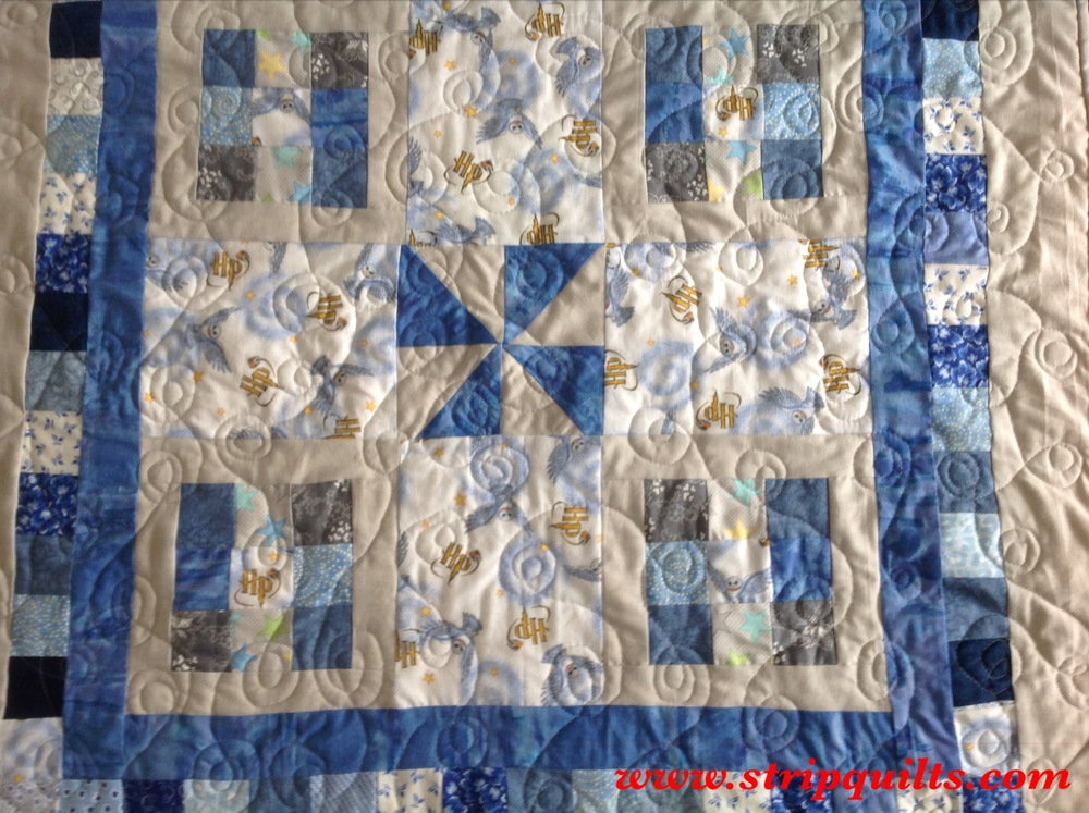 Harry Potter Baby Quilt