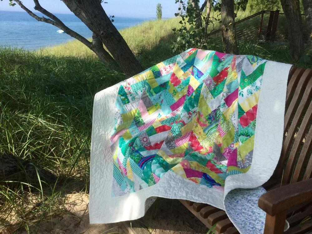 Summer Breeze Quilt Strip Quilts