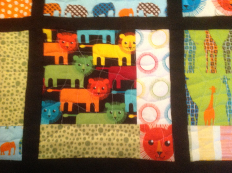 I loved this fabric and would have bought more but it was discontinued. I'm happy to have a few scraps left over.