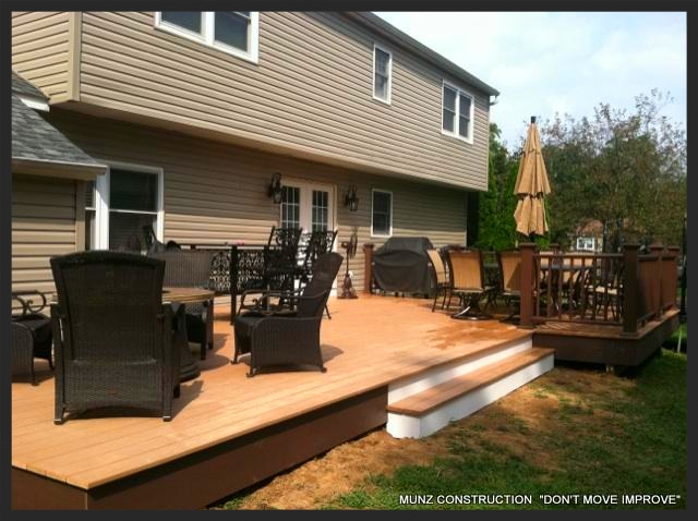Munz Construction Decks