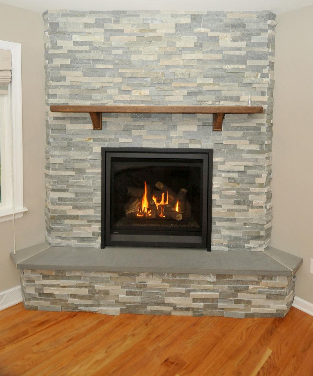fireplaces u0026 stone u2014 munz construction