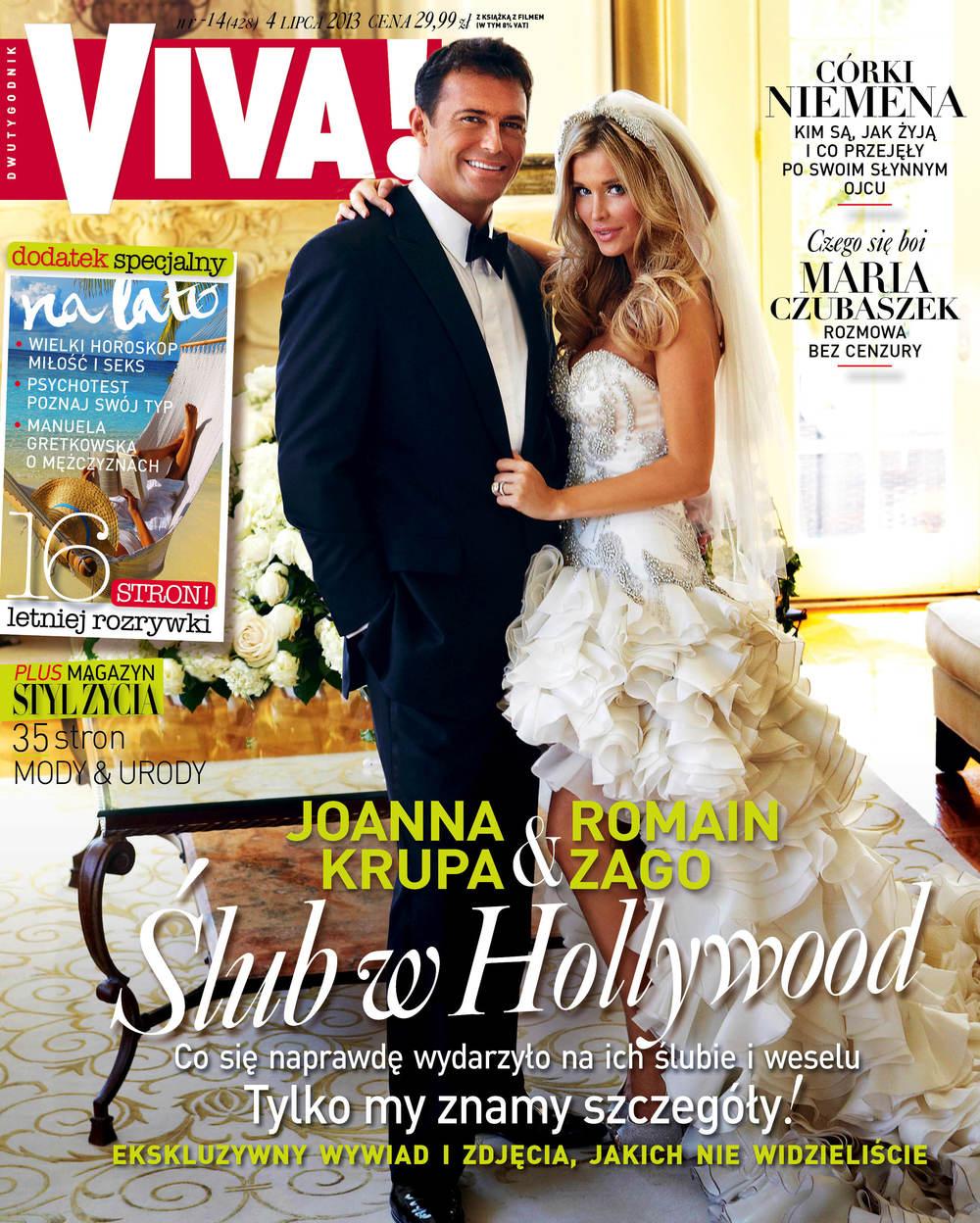 ViVA Magazine  w/Joanna Kruppa