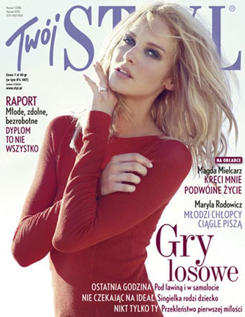 TWOI STYLE Magazine  w/Magda Meilcrz