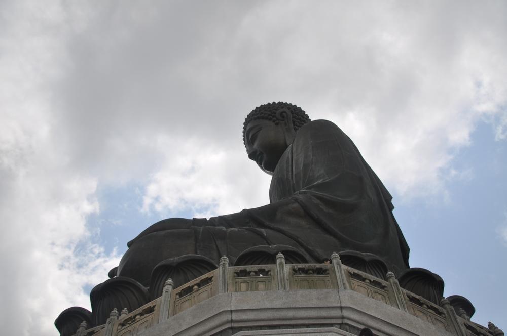 The Buddha on Landau Peak.
