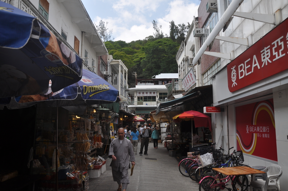 Tai O, a peaceful fishing village.  Most of the buildings are on stilts to accommodate the tides.