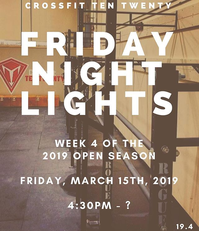 Week FOUR of The Open is here!!🍀#intheopen #fnl #challenges #crossfit