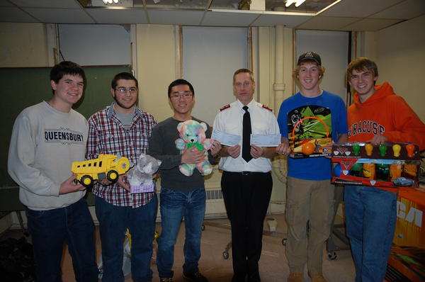 Student Senate 2011 Salvation Army Toy Drive