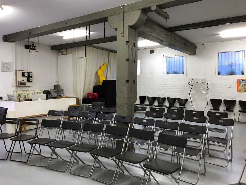 New York - Flexible warehouse for medium to large eventsNew York features modern lighting, high ceilings, concrete floor.  This room is ideal suited for medium size groups, workshops, concerts, breakfast & brunch talks, art exhibitions and private functions.Access via Yurong Lane at the corner of Crown Lane via a large old style sliding door.Event Types:large functions, pop-up-shop, performances, art exhibitions, weddings, product launches, workshops, dinnerup to 100 peoplefrom $77 ph  incl. GST