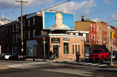 """La Corona,"" Billboard Project, 2012; installation view, Philadelphia. Courtesy of the Artist."