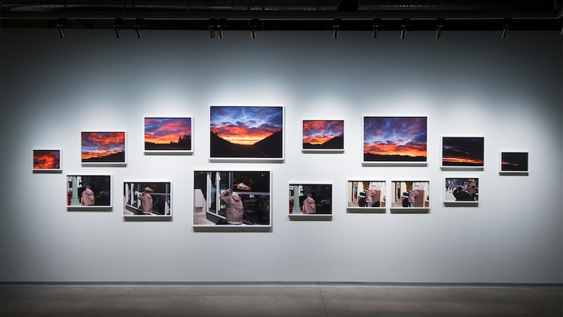 Paul Graham, Installation view of 'The Whiteness of the Whale,' 2015.. (Photo: Pier 24 Photography, San Francisco)