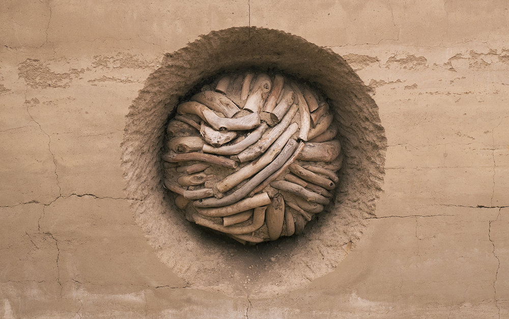 Andy Goldsworthy, Earth Wall, 2014; Photo © Matthew Harrison Tedford