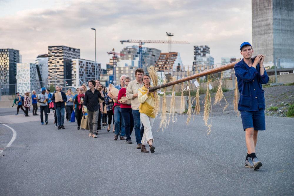 Futurefarmers, 'Flatbread Society,' 2012–ongoing. (Courtesy of Futurefarmers. Photograph: Monica Lovdahl)