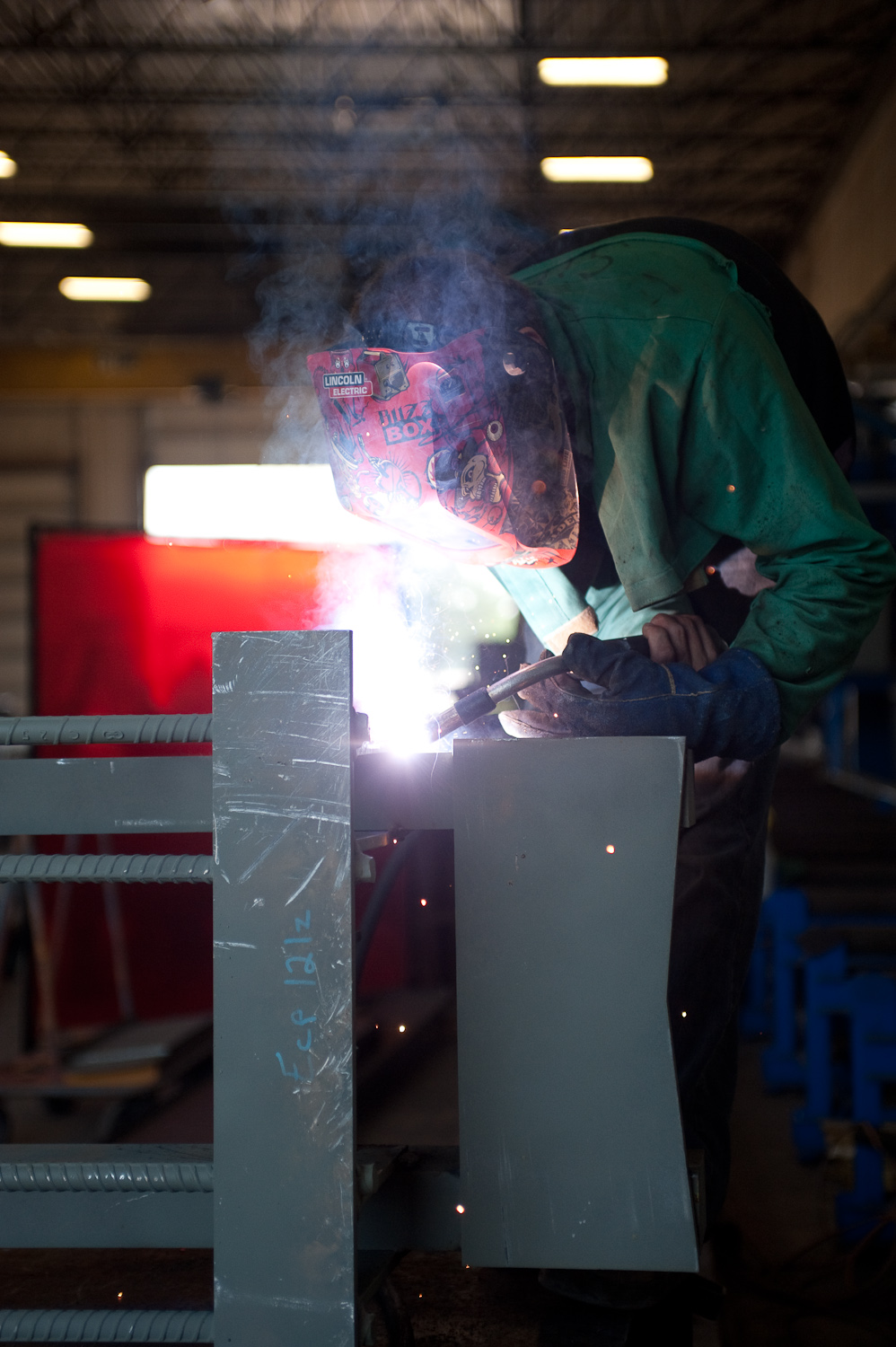 Welding Embeds, Vikings Stadium