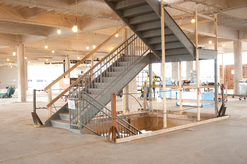 Ambulatory Center, UofM, Stair Tower