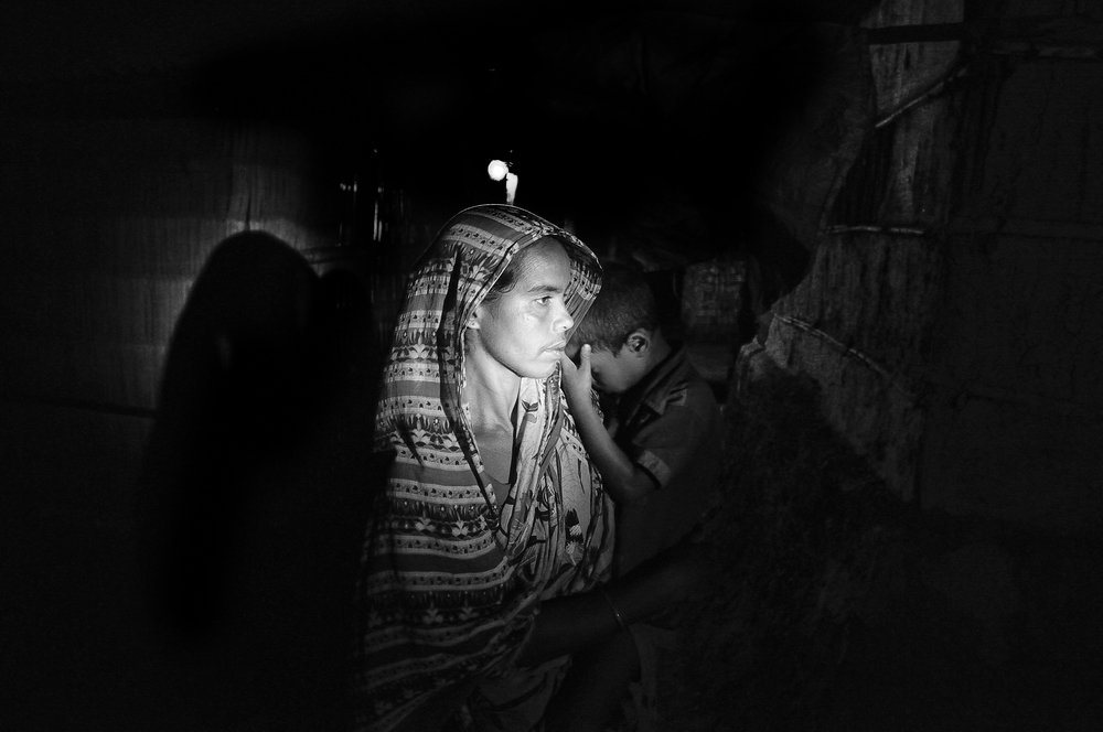 Mahrufa Khatun is a widow (husband killed by tiger), she and her son live with her in laws where she's passing a measurable life.