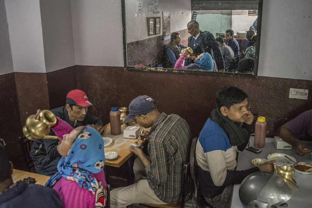 Restaurants are open on 5th day since the earthquake happened in Kathmandu.