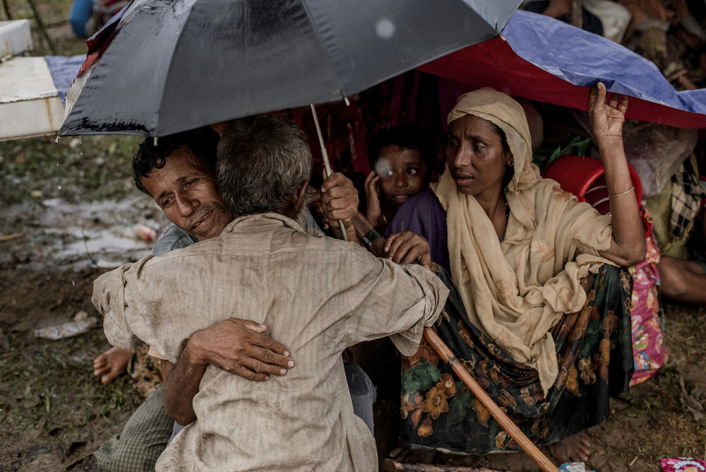 A nephew and an uncle meets accidentally in a refugee camp in Cox's Bazar while the nephew waits at the relief queue. The uncle and the nephew lost touch while they ran away from their village in Myanmar and both of them thought that they were killed by Burmese military.