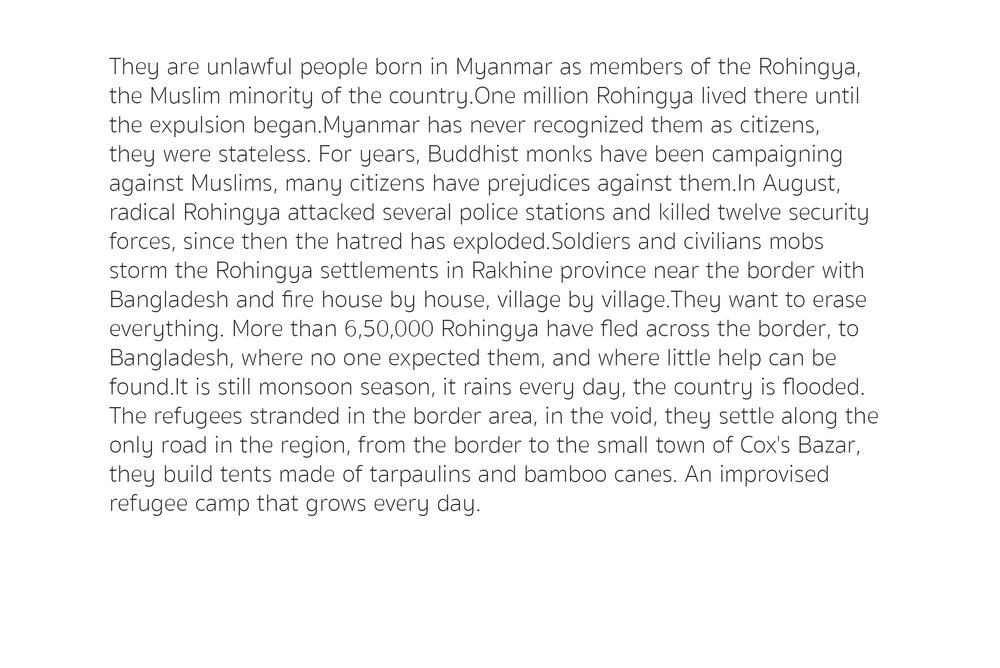 Stales beings-Rohingya