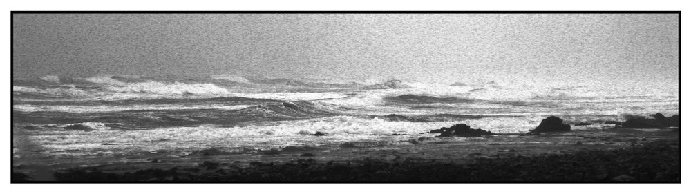 The Stormy Sea - Wells, ME