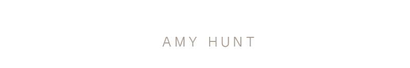 Amy Hunt | Staging & Design