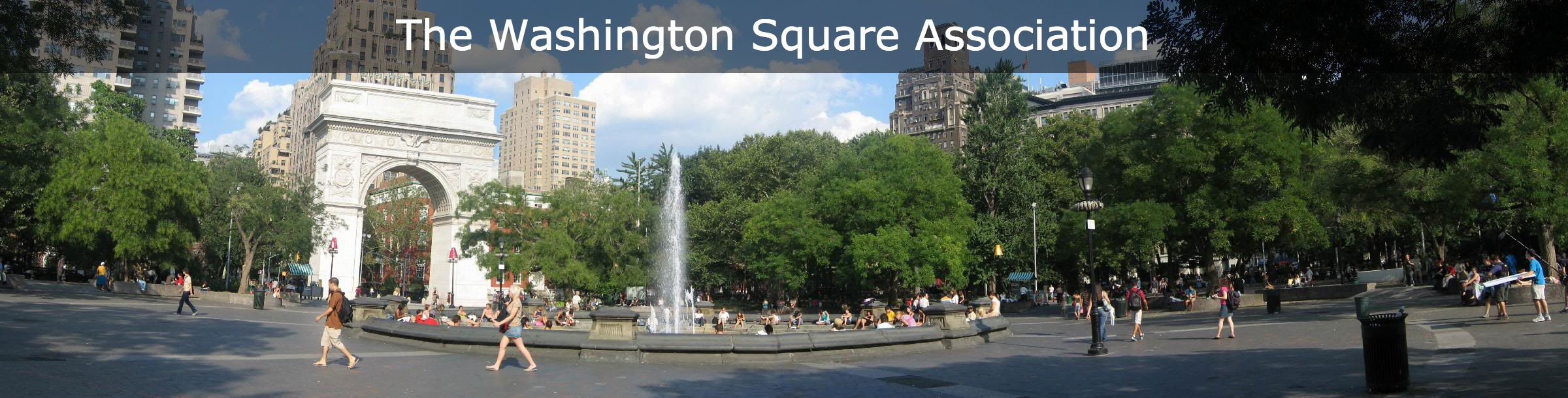 Washington Square Park 4 Smaller Font