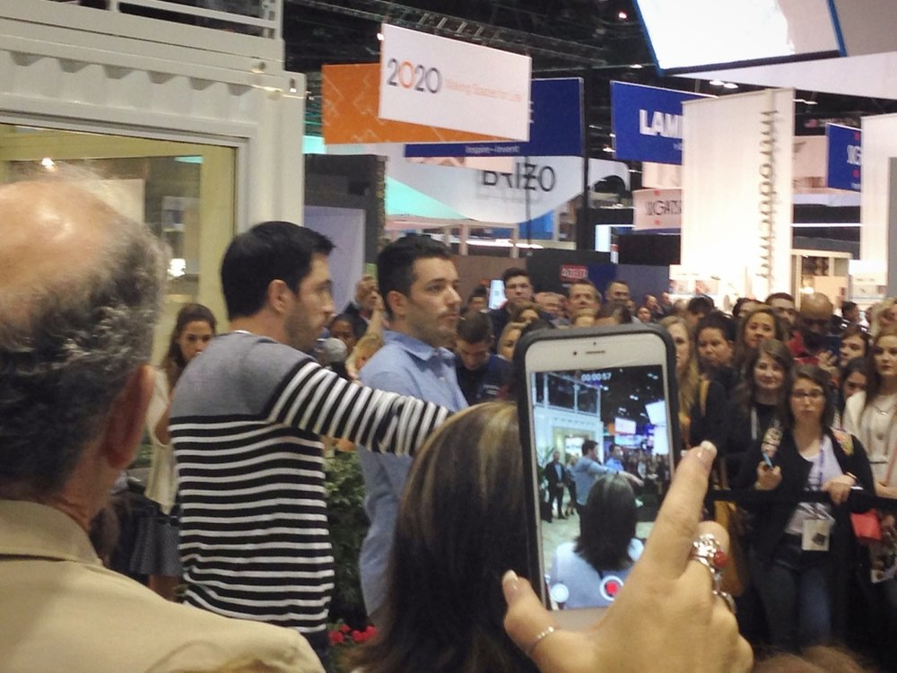 "Jonathan and Drew Scott, from HGTV's ""Property Brothers"""