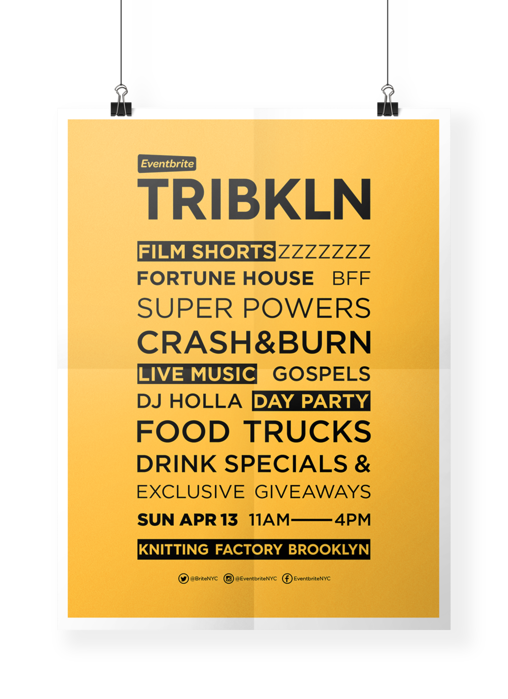 Eventbrite TRIBKLN