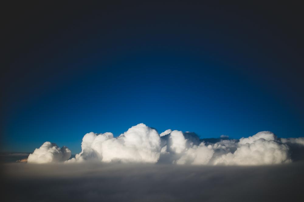 Obligatory cloud picture