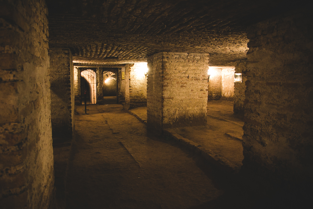 The beginning of the Catacombs