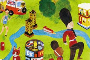 尼克的倫敦A - Z 插畫展 2013/11/30-2014/1/26