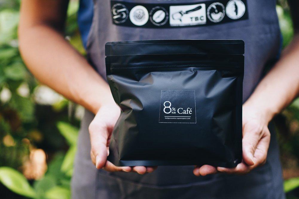 烘焙好的豆子會包裝於附有單向排氣閥的袋子內,這個裝置可釋出咖啡持續排出的二氧化碳,但外界的空氣卻無法進入,從而防止咖啡因過度氧化而無味。