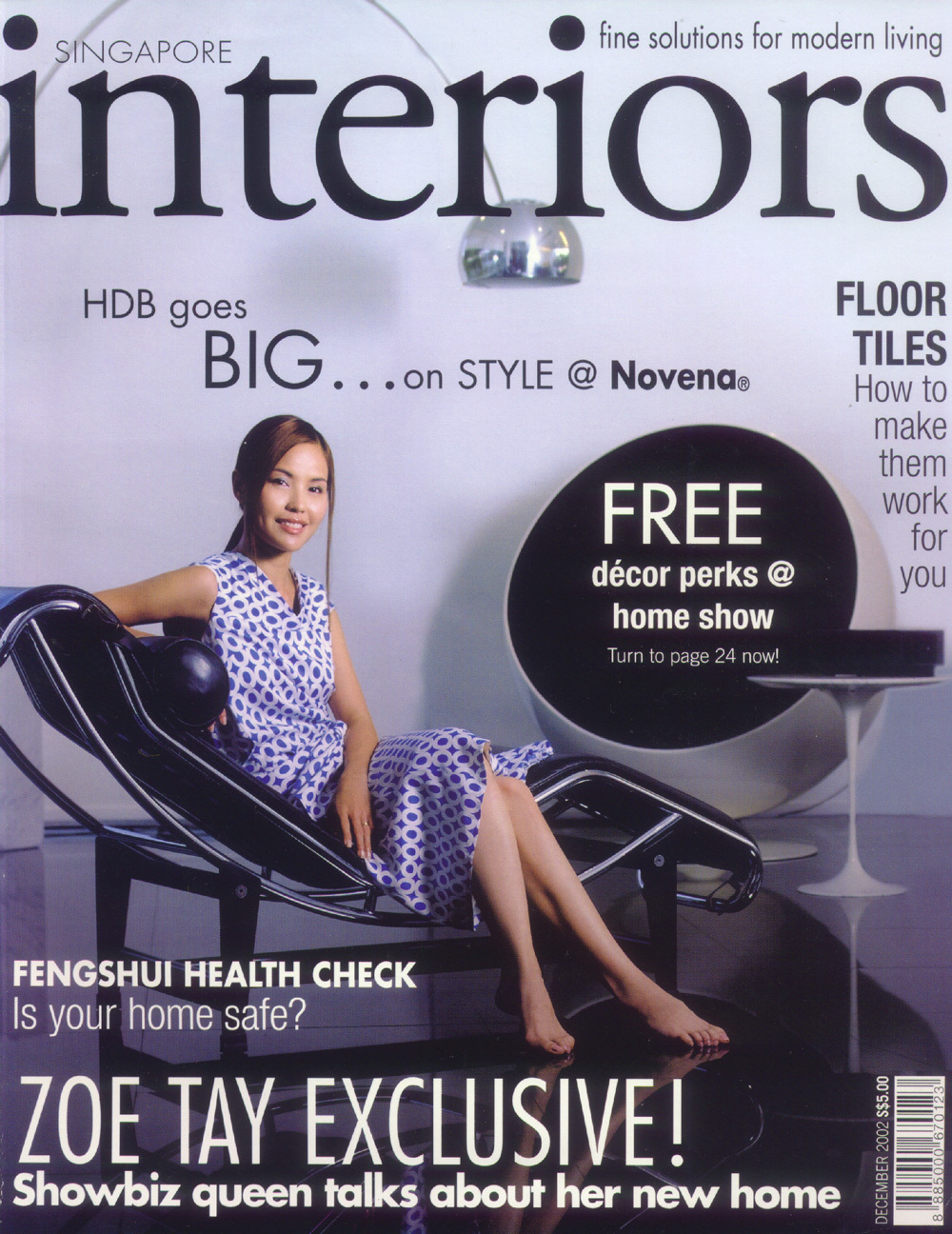 2002, Dec issue / Interiors magazine