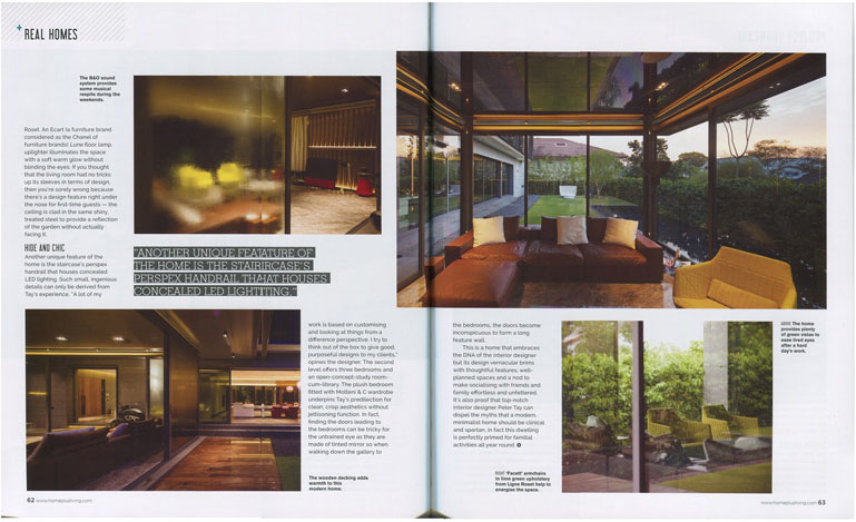 2014, Nov / Home and Living magazine