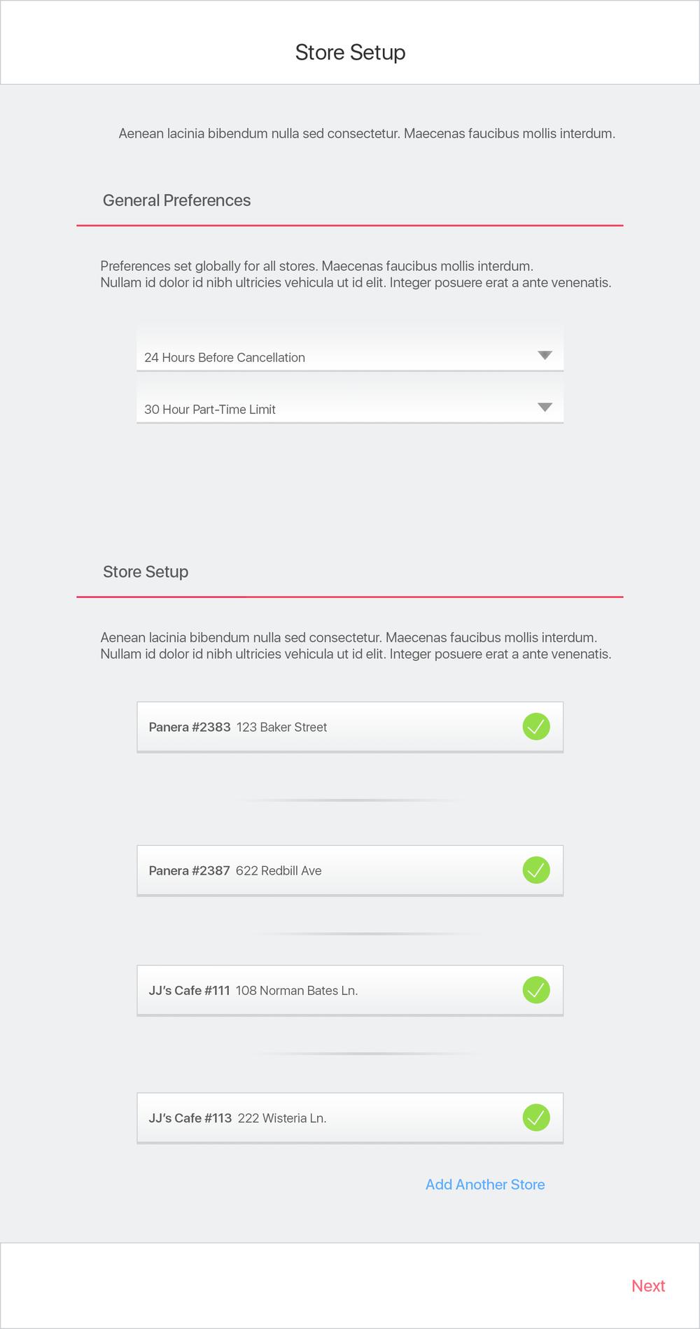 Web Client Setup