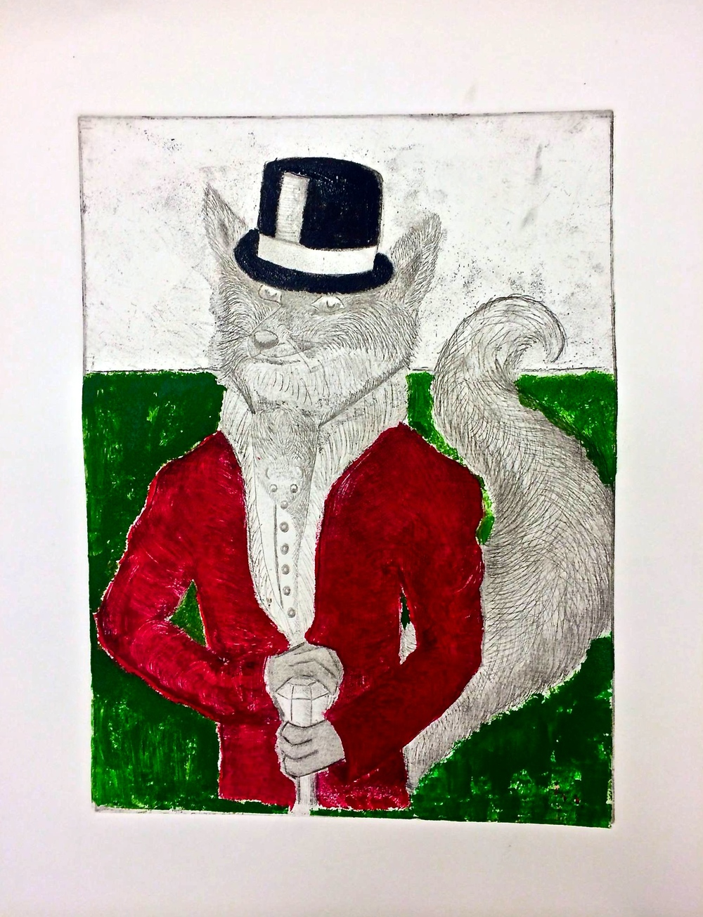 Foxy Gentleman Caller